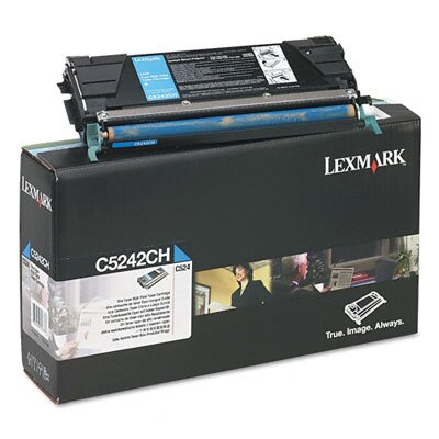 Lexmark International C5242CH High-Yield Toner, 5000 Page-Yield