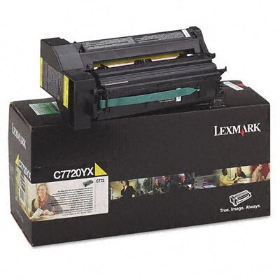 Lexmark International C7720YX Extra High-Yield Toner, 15000 Page-Yield