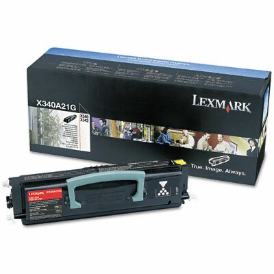 Lexmark International X340A21G Toner Cartridge, Black