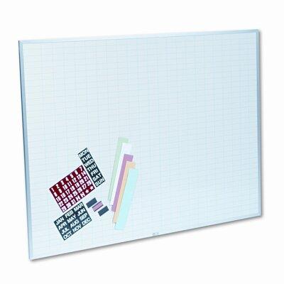 Magna Visual, Inc. Magnetic Work/Plan Kit 3' x 4' Whiteboard