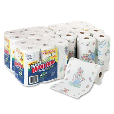 Marcal Paper Mills, Inc. Small Steps 100% Premium Recycled Giant Roll Towels, 140/Roll, 24/Carton