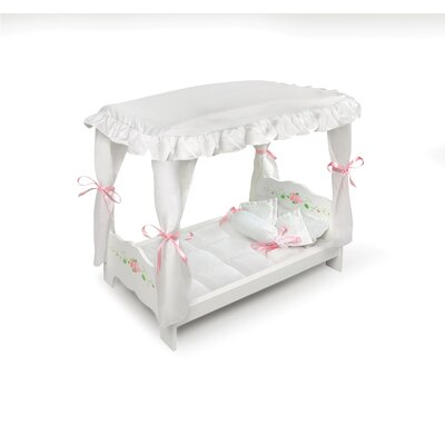 Rose Doll Canopy Bed