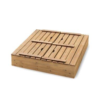 Badger Basket Cedar 4' Rectangular Sandbox with Cover