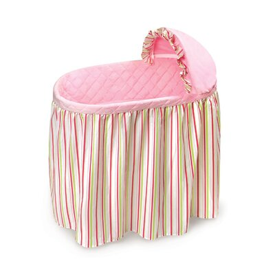 Badger Basket Embrace Bassinet with Bedding Set