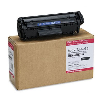 MicroMICR Corporation MICR Toner for LJ 1010, 1012, 1015,1018, 1020, 1022, Equivalent to HEW-Q2612A