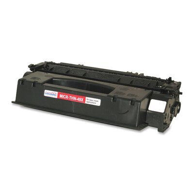 MicroMICR Corporation Toner Cartridge, 6,000 Page Yield, Black