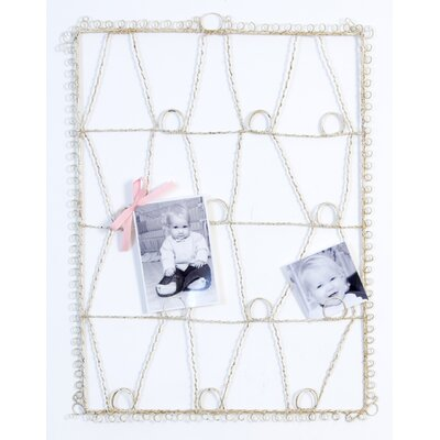 Glenna Jean Antique Wire  Memory Board in Cream