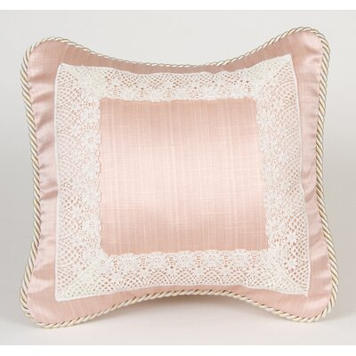 Glenna Jean Madison Pillow with Lace