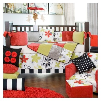 Glenna Jean McKenzie 5 Piece Crib Bedding Collection with Pillow