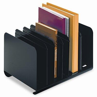MMF Industries Steelmaster Six-Section Adjustable Book Rack
