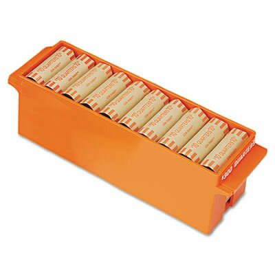 MMF Industries Porta-Count System Extra-Capacity Rolled Coin Plastic Storage Tray