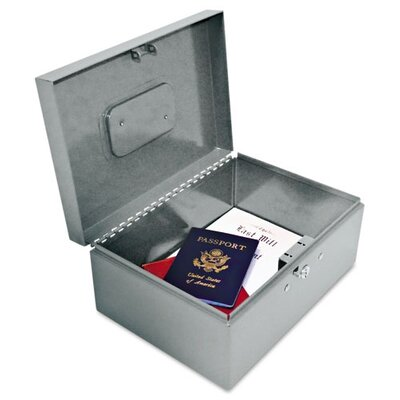 MMF Industries Steelmaster Locking Heavy-Duty Security Box