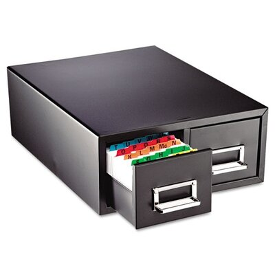 MMF Industries Steelmaster Drawer Card Cabinet