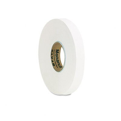 Monarch Marking One-Line Pricemarker Labels, White, 7/16 x 3/4, 16 Rolls