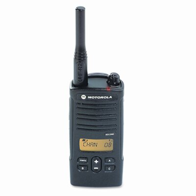 Motorola RDV2080D Two-Watt, Eight-Channel VHF Business Two-Way Radio