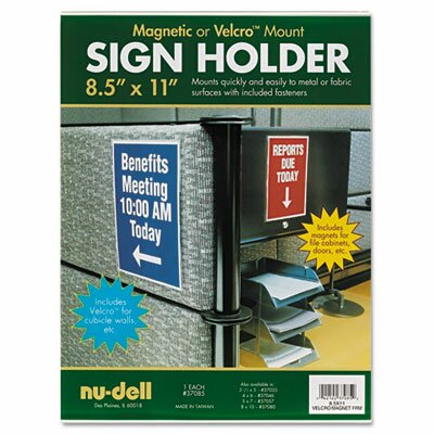 Nudell Plastics Plastic Sign Holder