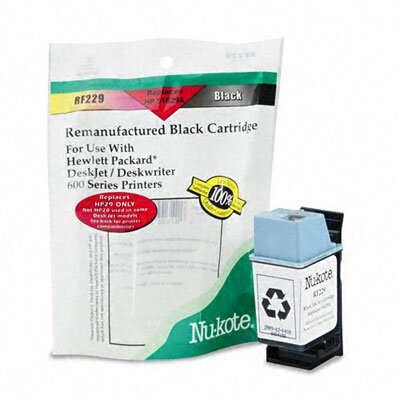 Nu-Kote® RF229 (51629A) Remanufactured Inkjet Cartridge, Black