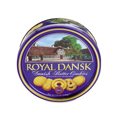 Office Snax Royal Dansk Cookies