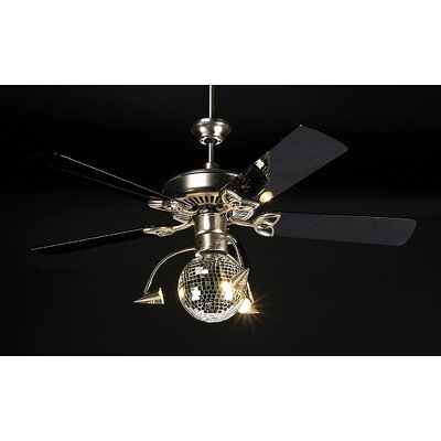 Craftmade Three Light Disco Ball Ceiling Fan Light Kit