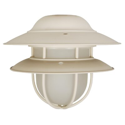 Craftmade One Light Outdoor Bowl Ceiling Fan Light Kit