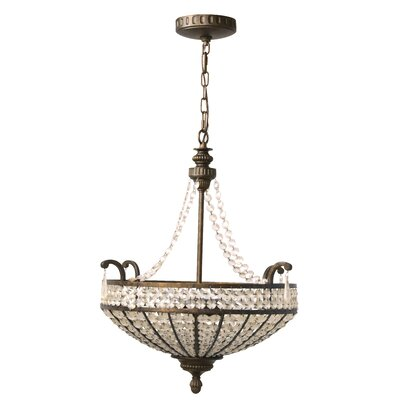 Cortona 3 Light Large Inverted Pendant
