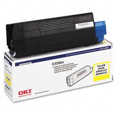 OKI Toner Cartridge (Type C6), 1500 Page-Yield