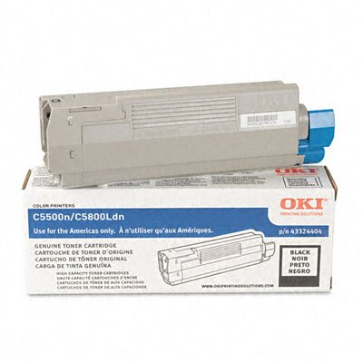 OKI Toner Cartridge (Type C8), 5000 Page-Yield