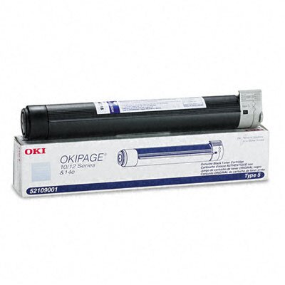 OKI 52109001 Laser Cartridge, Black
