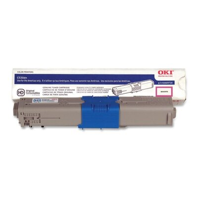 OKI Toner Cartridge, 5,000 Page-Yield