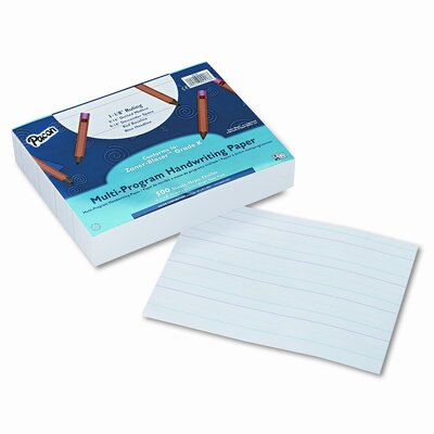 Pacon Corporation Multi-Program Handwriting Paper, 16 Lbs., 500 Sheets/Pack