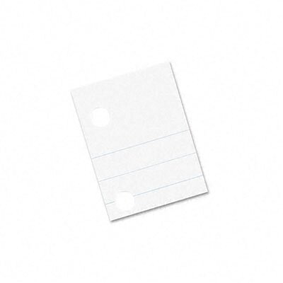 Pacon Corporation Composition Paper, 5-Hole Punched, 500 Sheets/Pack