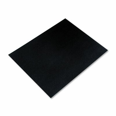 Pacon Corporation Colored Four-Ply Poster Board, 28 x 22, Black, 25 per Carton