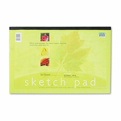 Pacon Corporation Art1St Sketch Pad, 50 Sheets/Pad