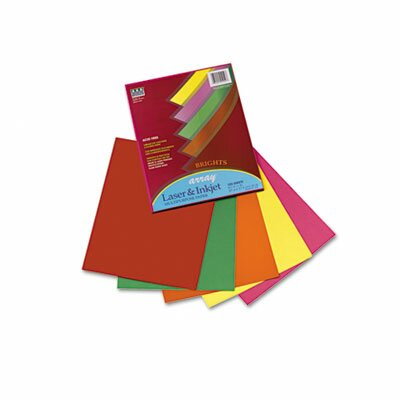 Pacon Corporation Array Colored Bond Paper, 20lb, Letter, Assorted, 100 Sheets/Pack
