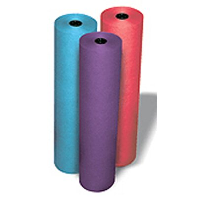 Pacon Corporation Rainbow Kraft Roll 100 Ft Red