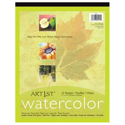 Pacon Corporation Art1st Watercolor Pad 11x14 12 Sht