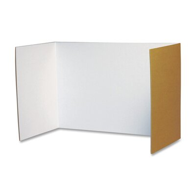 "Pacon Corporation Privacy Board, 48""x16"", 4/PK, White"