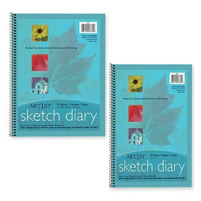 Pacon Corporation Art1St Sketch Diary, 70 Sheets/Pad