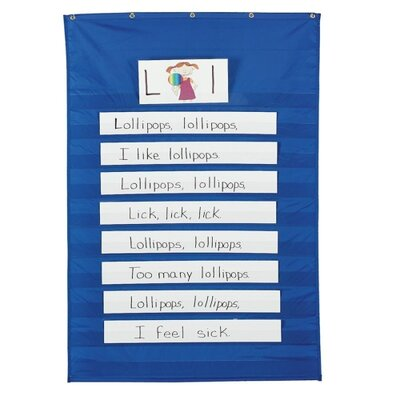 Standard Word/Sentence Strip Pocket Chart, 34