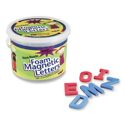"Pacon Corporation Magnetic Alphabet Letters,Foam, Upper Case, 2"", 108Ct."