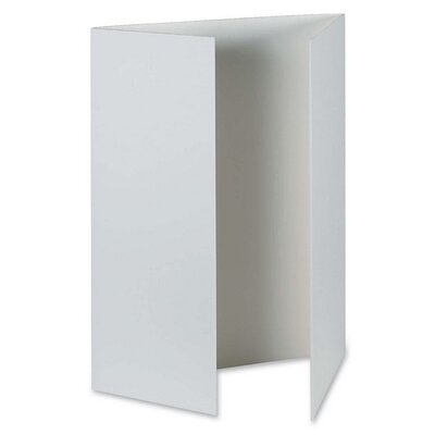 "Pacon Corporation Presentation Foam Board, Tri-fold, 48""x36"", 6 per Carton"