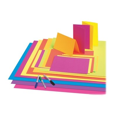 Pacon Corporation Premium Neon Poster Board (25 Per card)