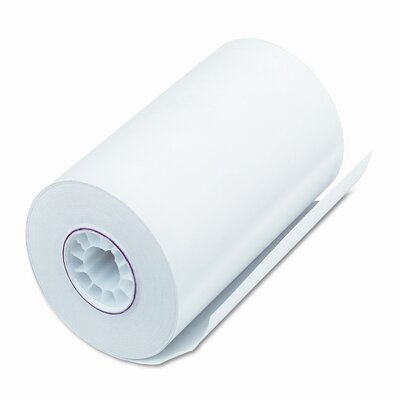 PM Company Single-Ply Thermal Cash Register / Pos Roll, 72/Carton