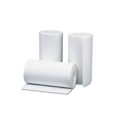 "PM Company Single-Ply Thermal Cash Register / Pos Roll, 1-1/2"" X 40 Ft., 10/Pack"