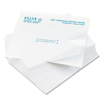 PM Company Postage Meter Double Tape Sheets, 300/Pack