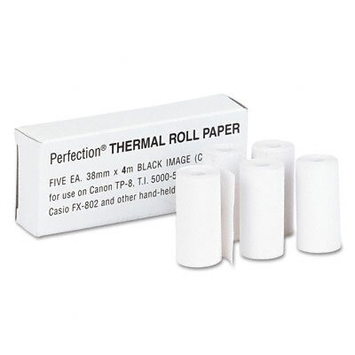 Thermal Calculator Roll, 5/Pack
