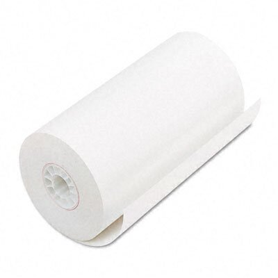 Single-Ply Thermal Cash Register / Pos Roll, 4-9/32