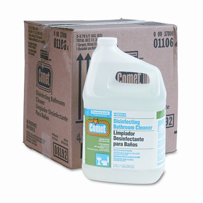 Procter & Gamble Commercial Comet Pro Line Disinfectant Bath Cleaner, 3 1gal. Bottles/ctn
