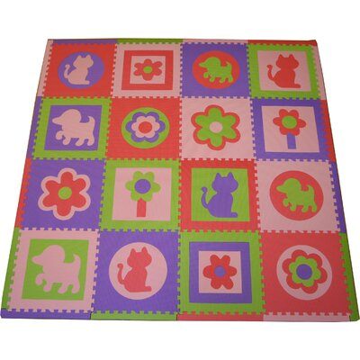 Tadpoles Cats and Dogs Playmat Set