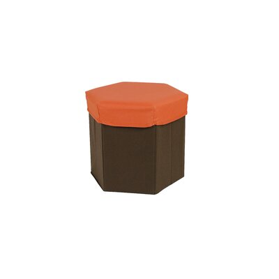 Tadpoles Hexagon Storage Box Stool